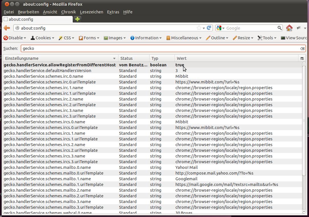 mailto Links und Zimbra Webinterface - EFM Zimbra Hosting